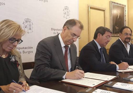 SODEBUR y la Confederación de Asociaciones Empresariales de Burgos trabajan juntos por el medio rural de la provincia