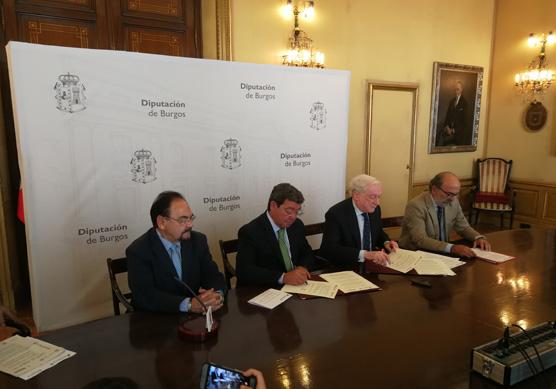 Diputación y Cámara apuestan por la dinamización empresarial del medio rural