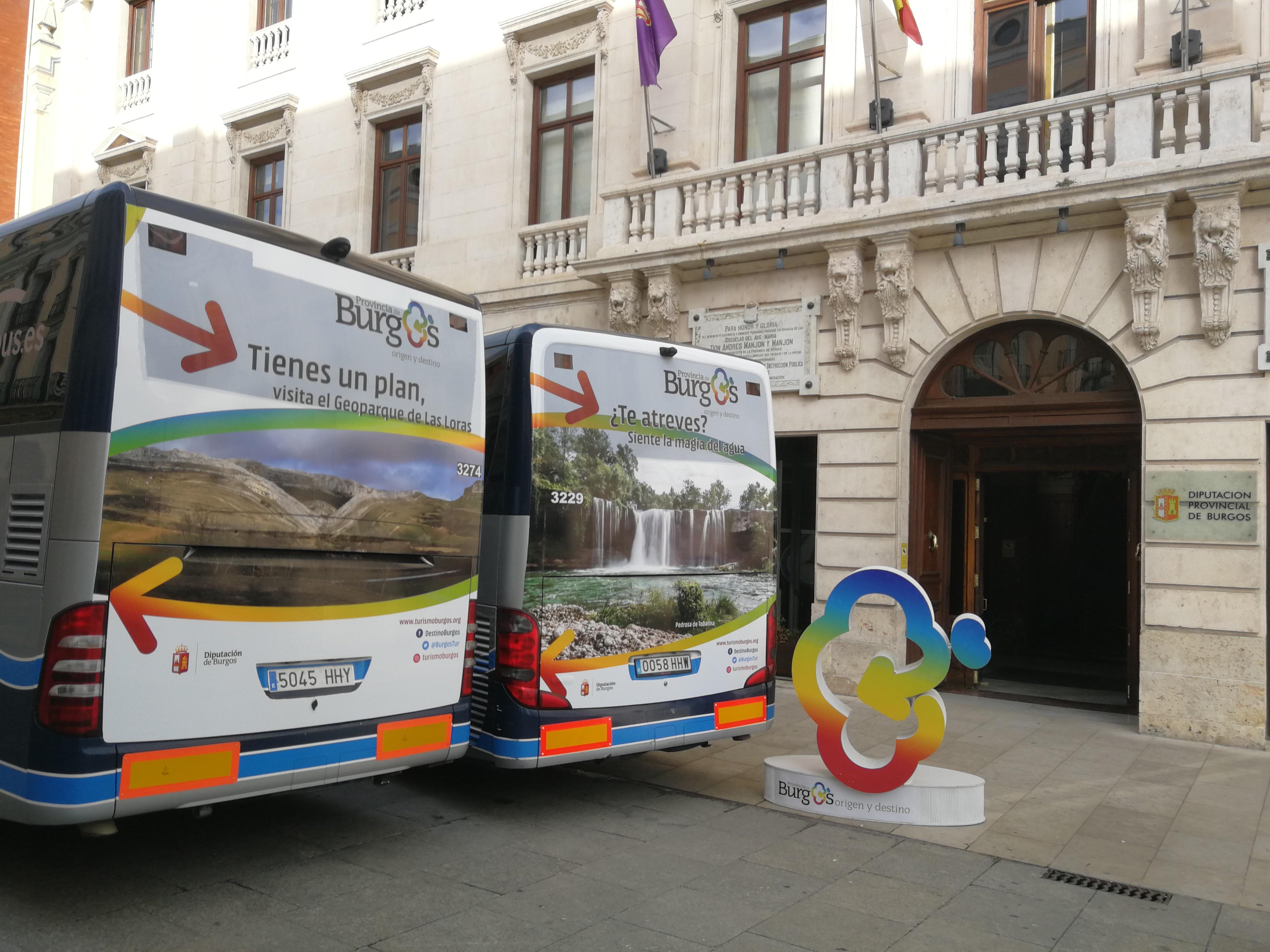 Burgos Origen y Destino estará en las principales autovías del norte de España