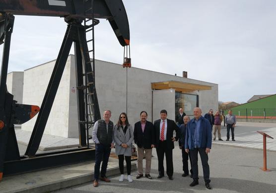 Cristina Gutiérrez inaugura la nueva temporada del Museo del Petróleo