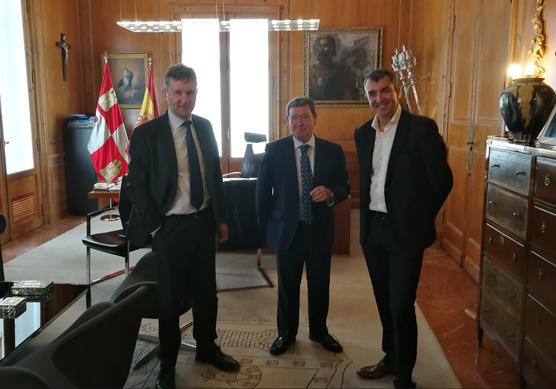 Diputación de Burgos utiliza la Vuelta a España como palanca de promoción de la provincia