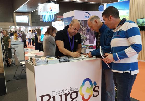 Provincia de Burgos, origen y destino promociona en Bilbao diferentes planes turísticos para toda la familia