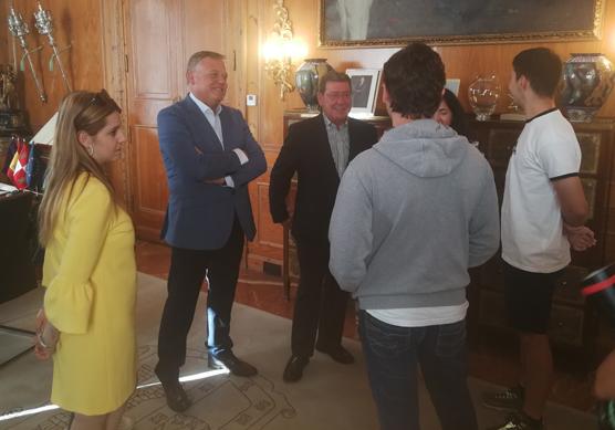 5 jóvenes de la provincia disfrutarán de prácticas formativas en empresas italianas