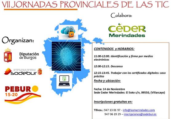 VII Jornadas provinciales de las TICs – 14 de noviembre de 2019