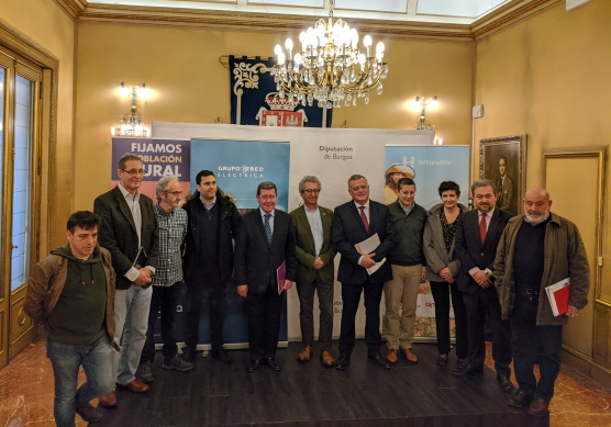 Diputación colabora con REE para fomentar el asentamiento de emprendedores en el medio rural