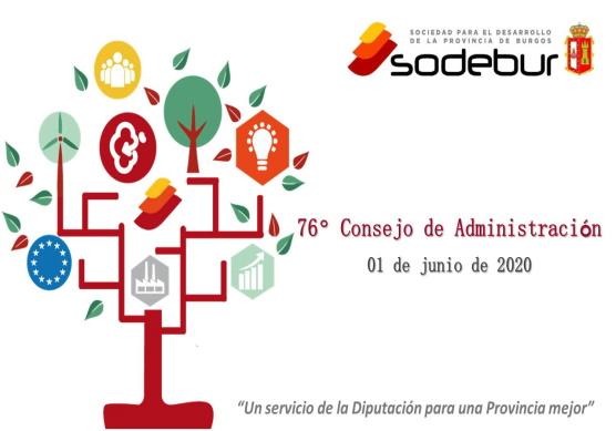 SODEBUR inicia las inversiones para la reactivación económica con 1.685.000€