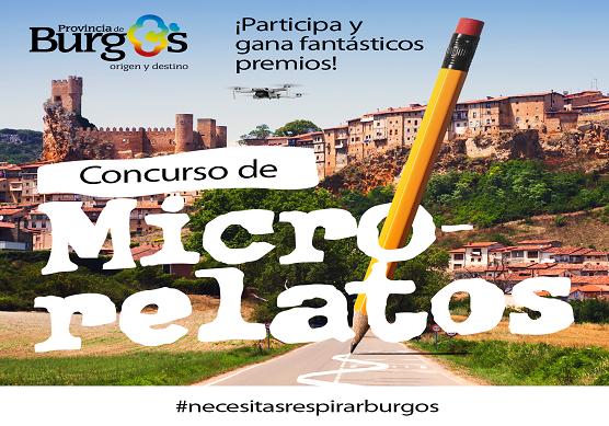 SODEBUR organiza un concurso de microrrelatos con la colaboración de la periodista Rocío Martínez