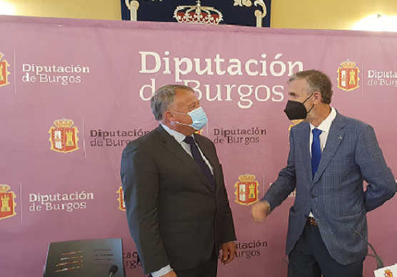 Sodebur convenia con la Universidad de Burgos para el fomento de la repoblación.