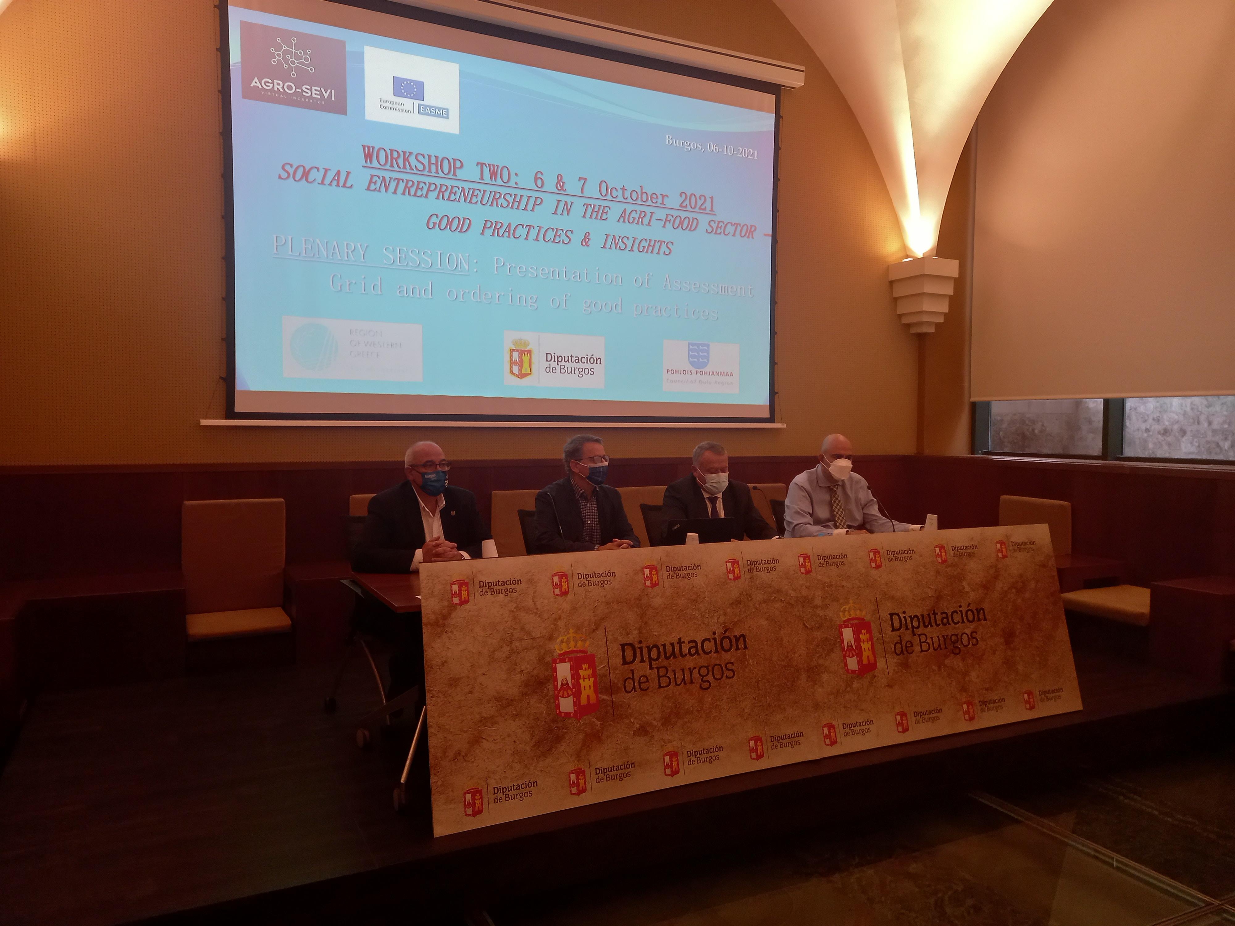 Burgos acoge el taller de trabajo del proyecto europeo AGRO SE-VI para apoyar el emprendimiento social en el sector agroalimentario